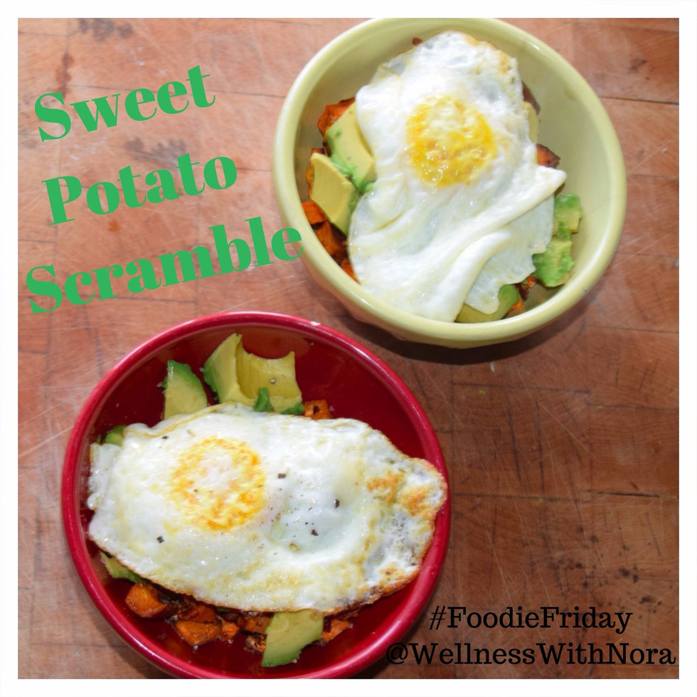 Foodie Friday: Sweet Potato Scramble