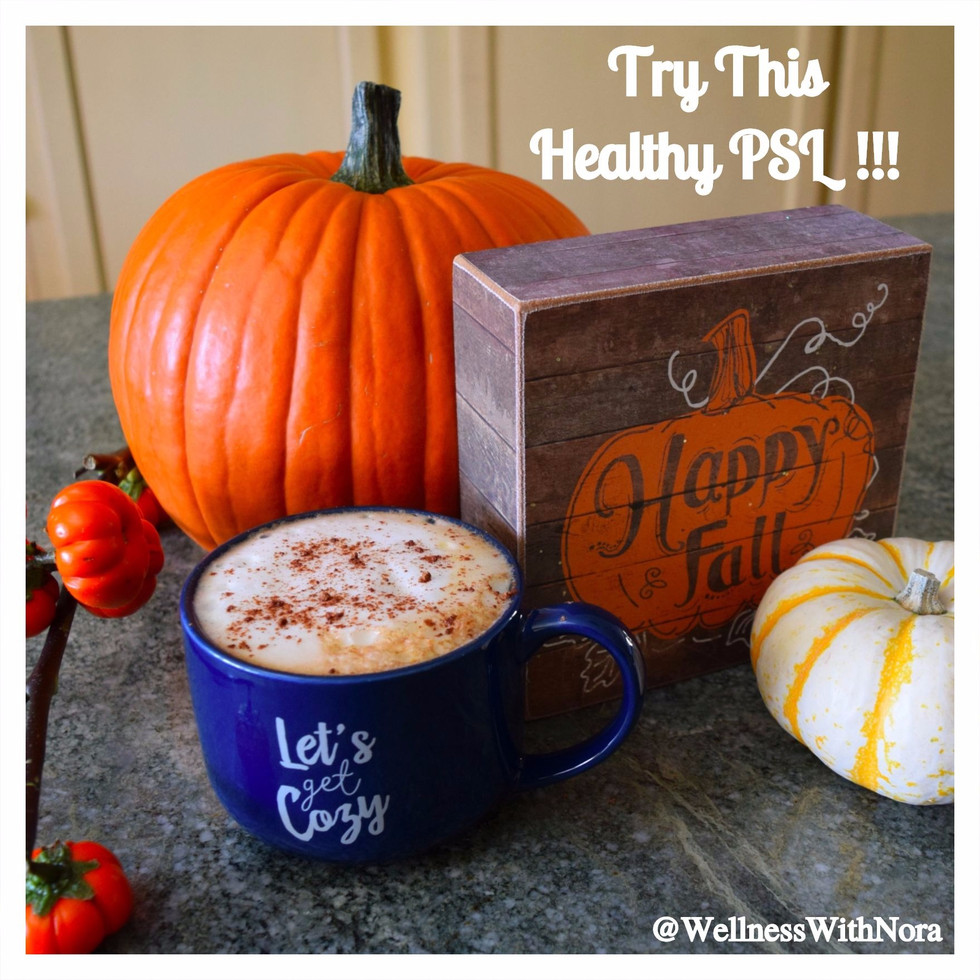 Try This Healthy Pumpkin Spice Latte!