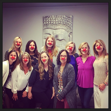 Contributing with Red Nose Day!