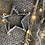 Thumbnail: Hammered Metal Star Decoration