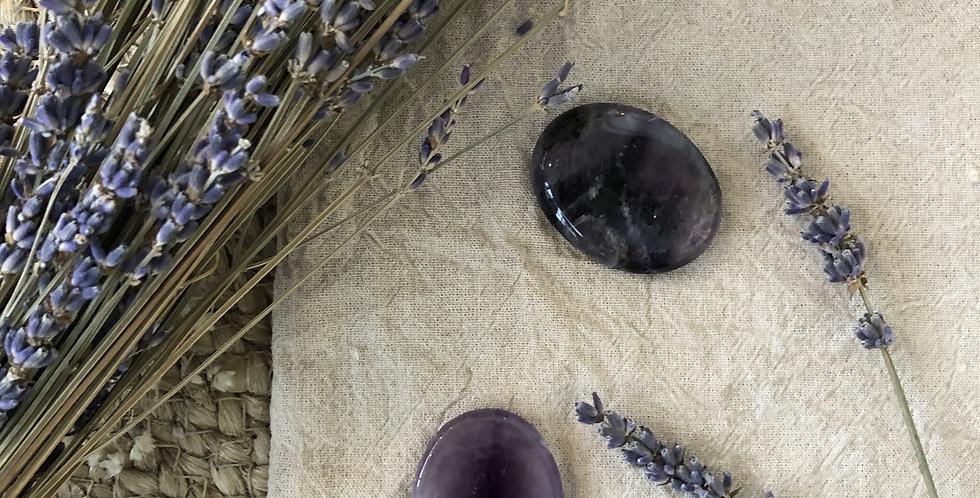 Amethyst Thumb Stone
