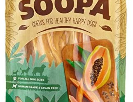 Soopa Papaya Chews Dog Treats