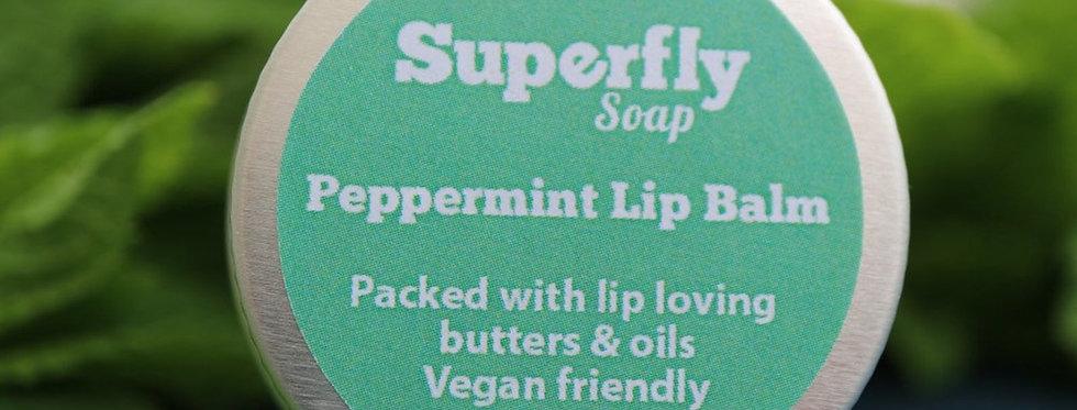 Vegan Peppermint Lip Balm