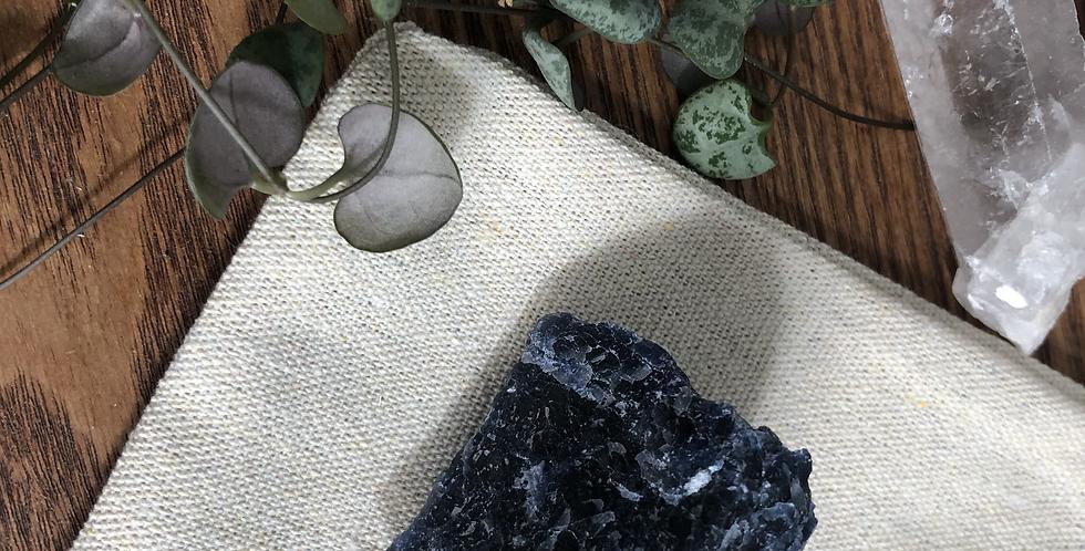 Raw Blue Sodalite Crystal