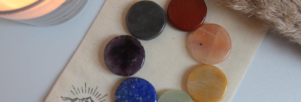 Chakra Stones Set + Pouch
