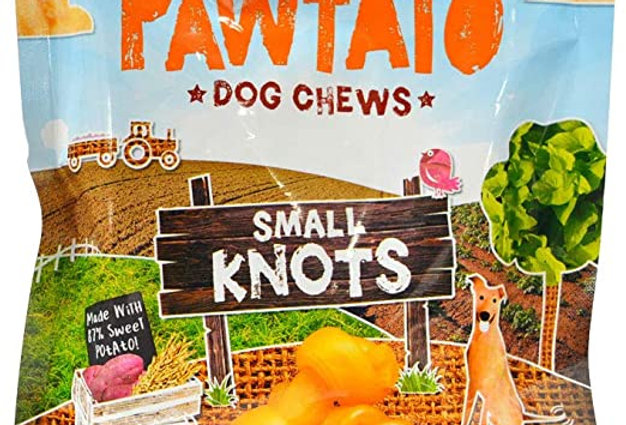 Pawtato Knots Vegan Dog Chews (150g)
