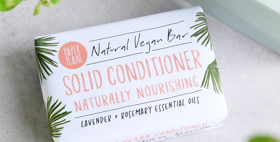 100% Natural Conditioner Bar - Lavender + Rosemary