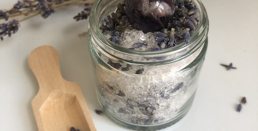 Amethyst Winter Bath Salts