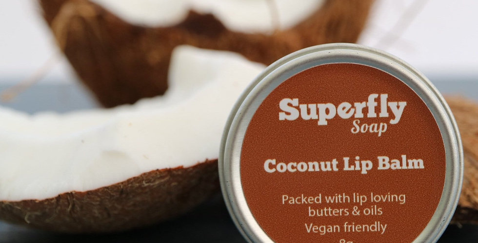 Vegan Coconut Lip Balm