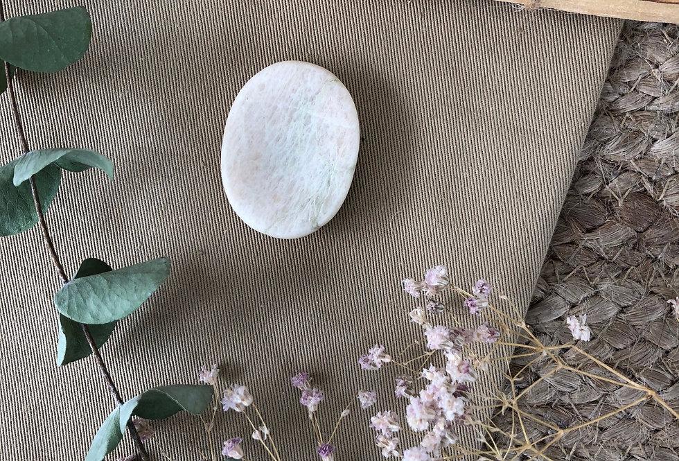 White Agate Thumb Stone