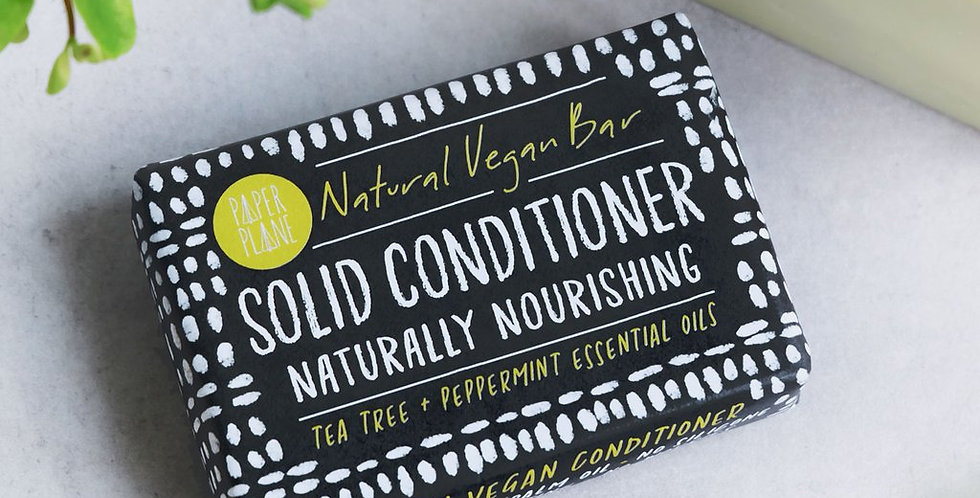 100% Natural Conditioner Bar - Peppermint + Tea Tree