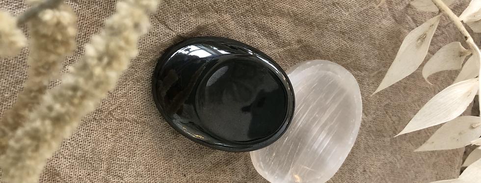 Hematite Thumb Stone