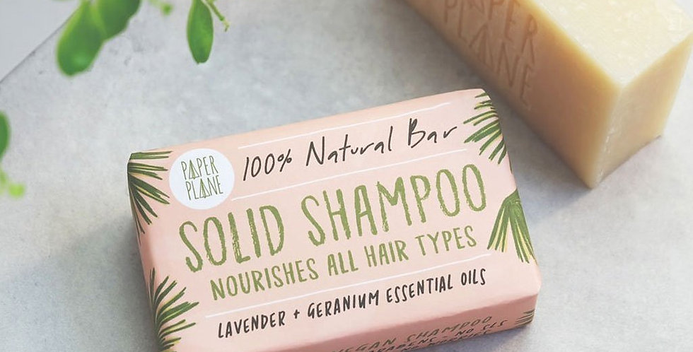 Shampoo & Conditioner Bar Set - 100% Natural + Plastic Free