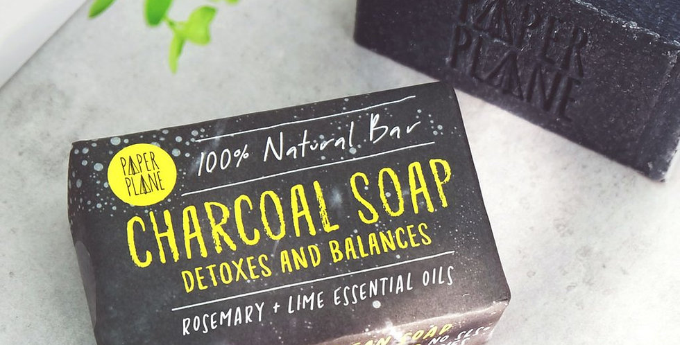 Charcoal Detox Soap - Rosemary + Lime