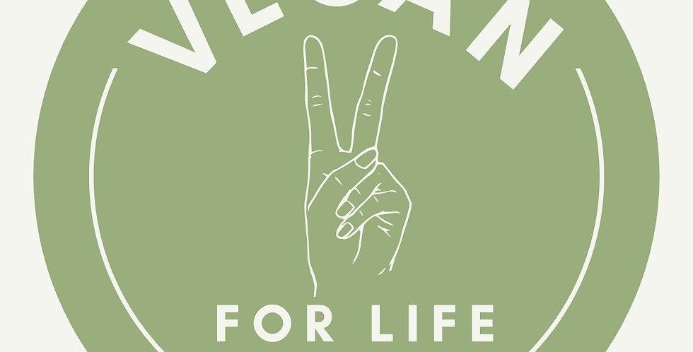 Vegan Window Sticker