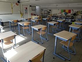 Salle classe - primaire