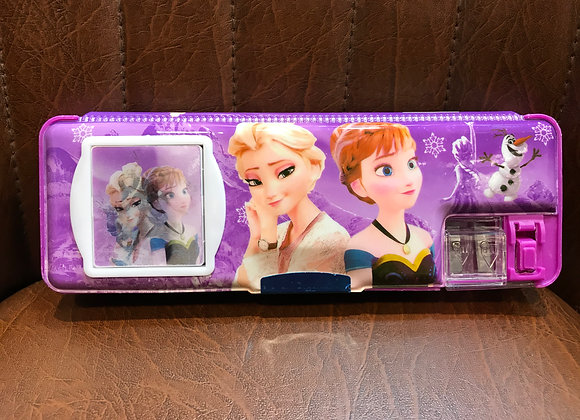 Frozen Pencil Box with calculator
