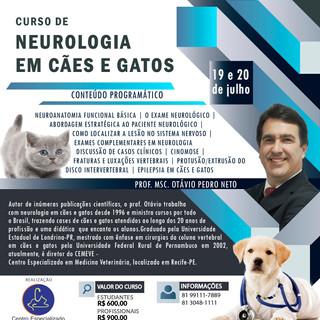 Curso de Neurologia em Cães e Gatos