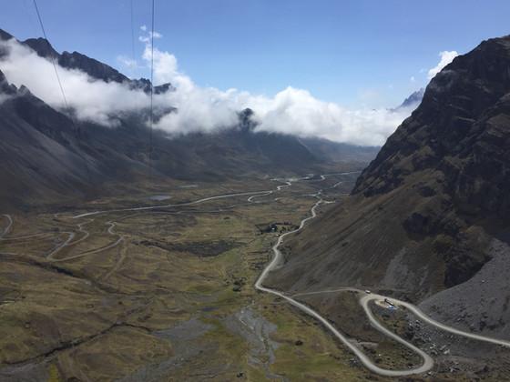 Bolivia: Mountainbiking/ Bolivien: Mountainbiking