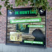 JK Hunting fönsterdekor
