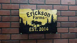 custom carved wooden signs