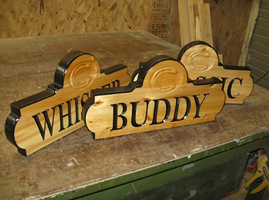 Horse Name Stall Plaques