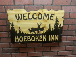 Wood Welcome Signs