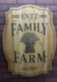 Family Farm Signs