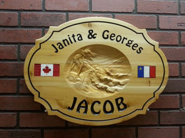 Wooden Cottage Signs