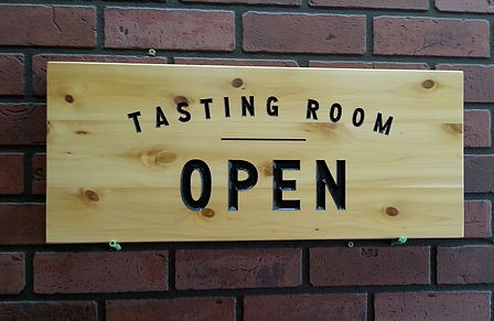 Wooden Open Sign For business