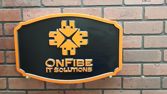 custom wooden business signs