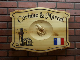 Wooden Lobster Signs