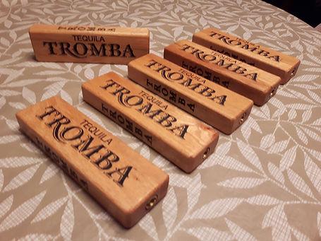 wooden tap handles