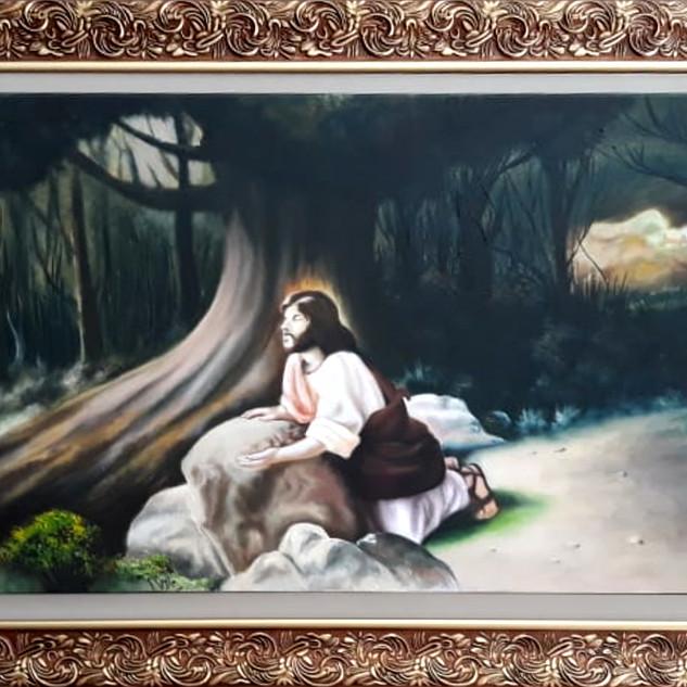 425 - Monte das Oliveiras - Cristo em Oração