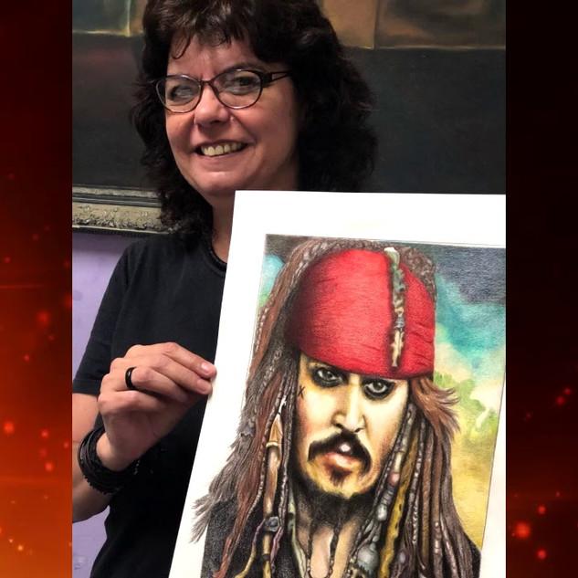 Crsitina Silva - Pirata Caribenho