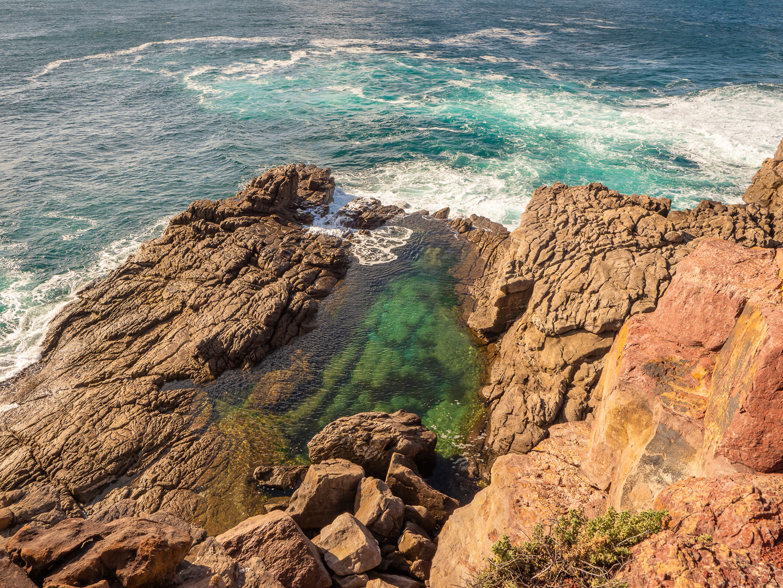Tura Beach rock pool
