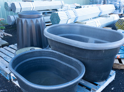 Troughs and Bins
