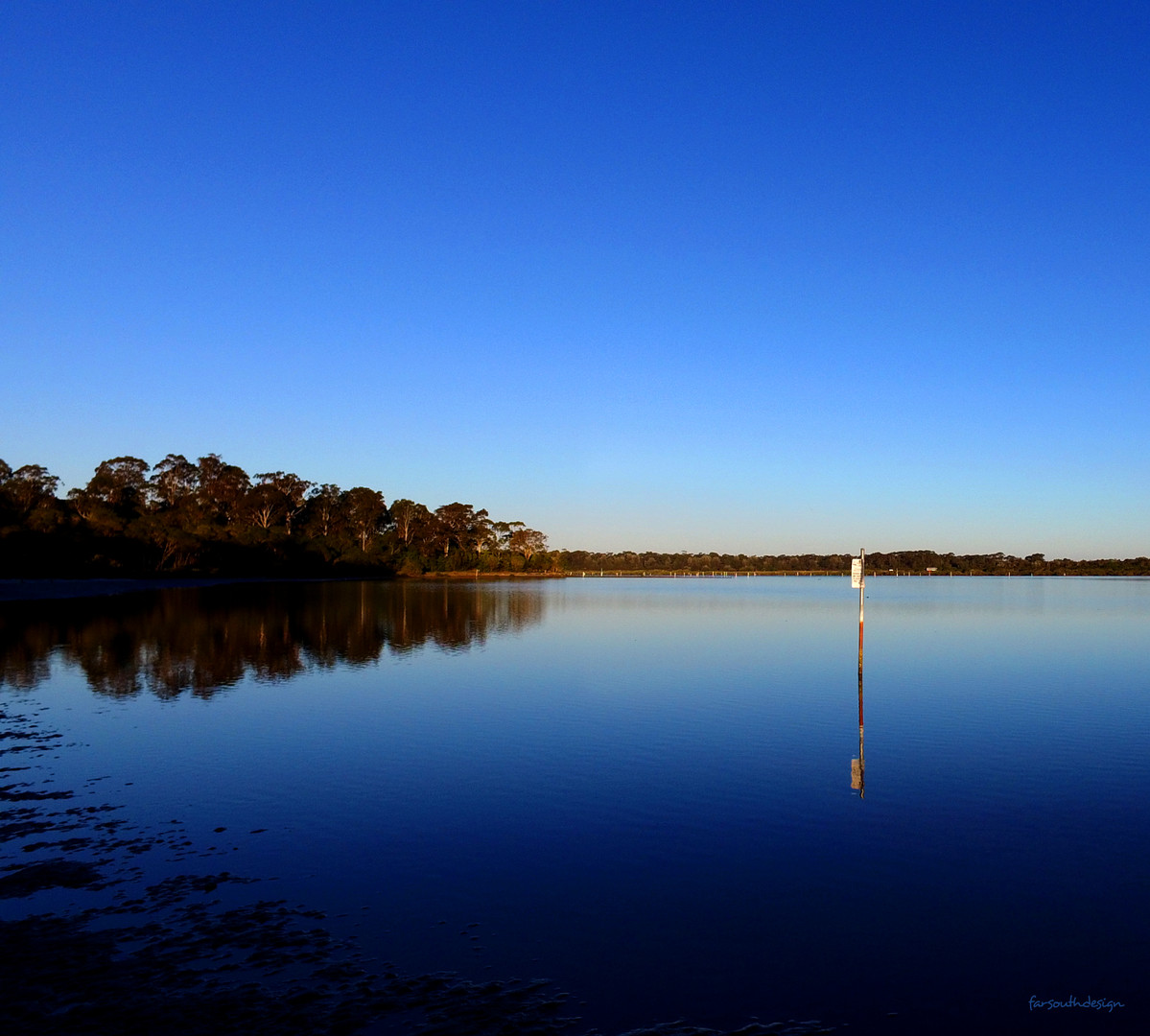 High tide Merimbula Lake