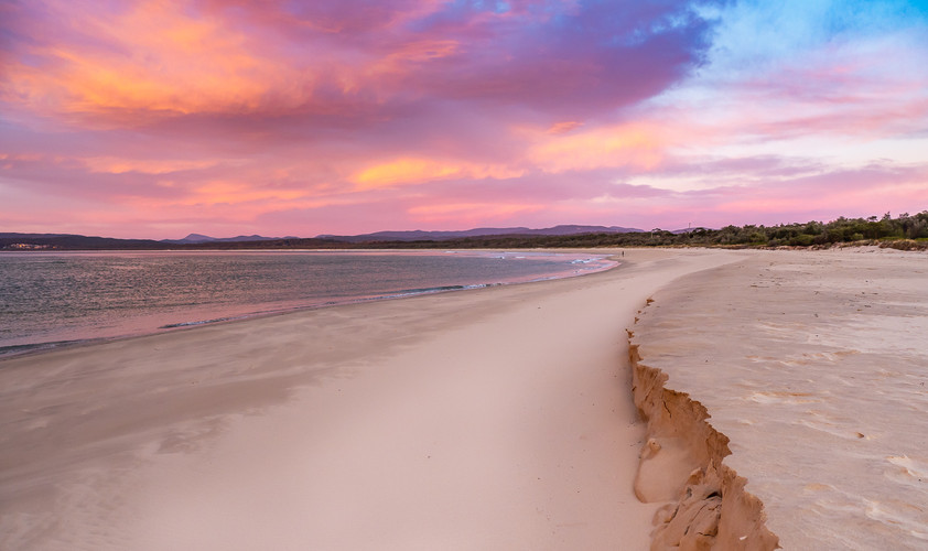 Sunrise on Main Beach