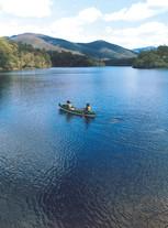 Paddling on Brogo Dam