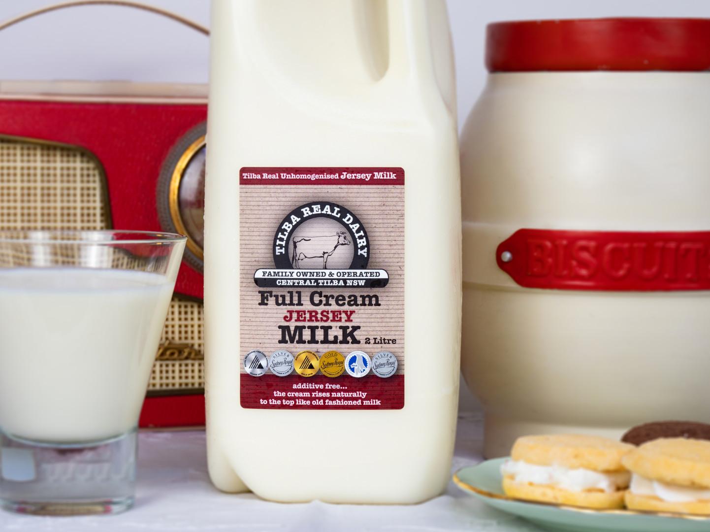 Tilba Full Cream Milk