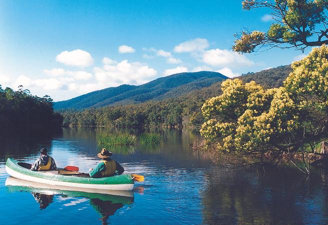 The joys of canoeing!