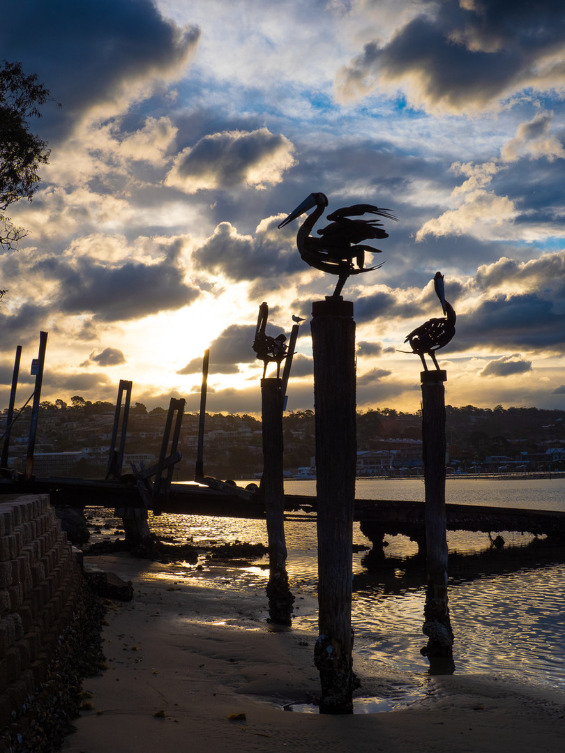 Iconic Merimbula sculptures