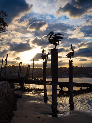 Iconic Merimbula sculptures