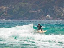 Surfing Main Beach