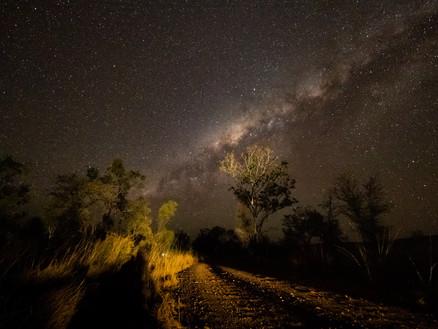 Night skies in the Kimberley