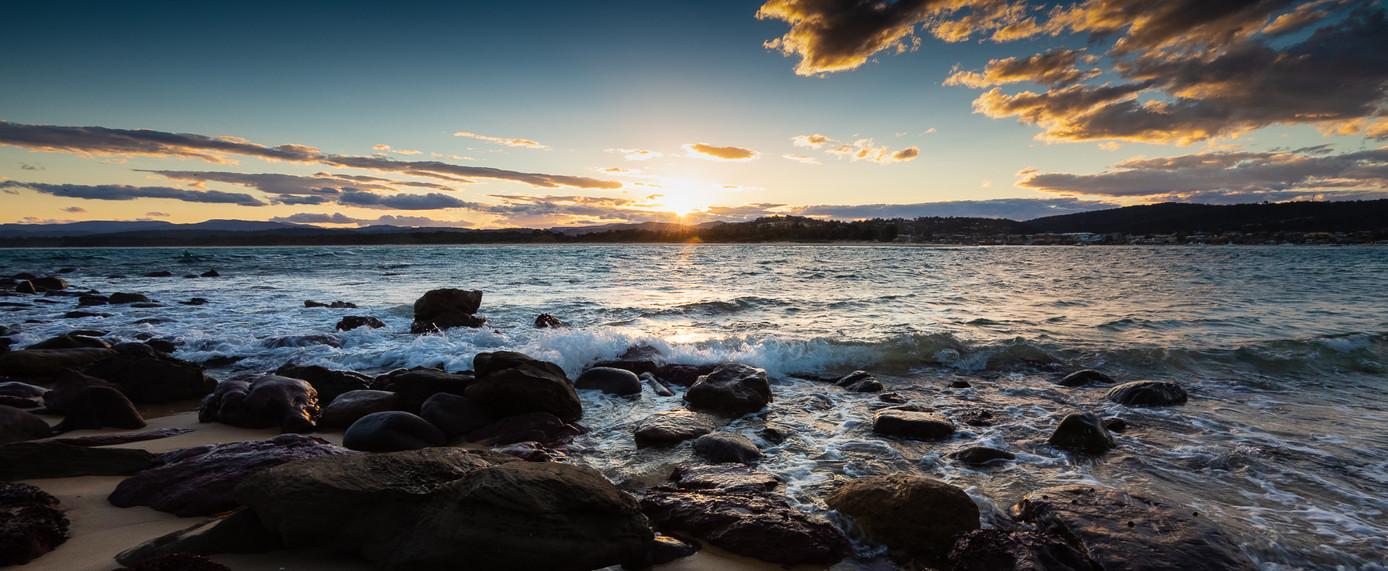 Sunset over Bar Beach