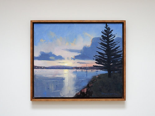 'Sunset at Spencer Park'