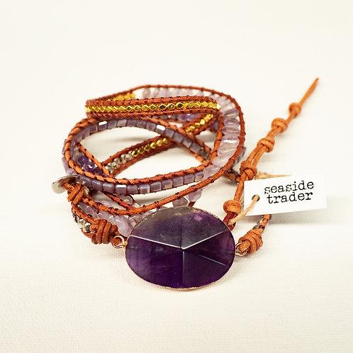 Boho Bracelet Amethyst