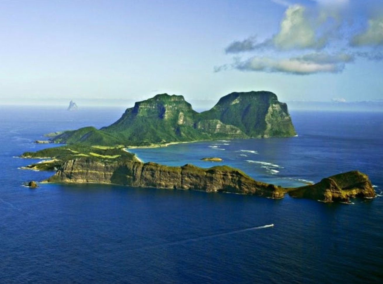Lord Howe from afar